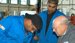 Youth Work in Trades: Work-based training