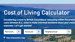 WorkBC Cost of Living Calculator: Compare 150 B.C. communities