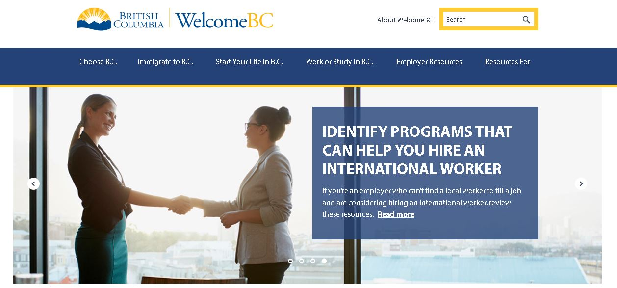 WelcomeBC: A source of important information for newcomers to B.C.