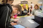 Students explore Career Tech Zone station